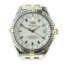 Breitling Mens Breitling Chronometer Steel & Gold Automati...
