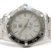 TAG Heuer 2000 Aquaracer WAF2111 Silver Dial 38mm Automatic...