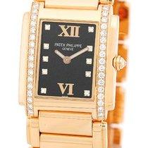 "Patek Philippe Lady's 18K Rose Gold  ""Diamond Twenty-4..."