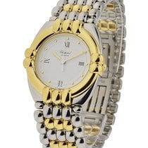 Chopard 33/8120 Gstaad 32mm 2-Tone - on Bracelet with White Dial
