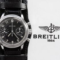 Breitling Valjoux 7733 Vintage Flieger Military Chronograph 1960