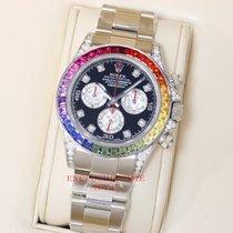 Rolex Daytona Rainbow White Gold 116599 RBOW FACTORY
