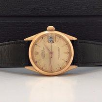 Rolex Date Ouro Rosé 18k 1980 100% original impecavel