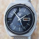 Seiko 5 Sports Vintage Mens Big Day Date Automatic Collectible...