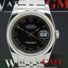 Rolex Datejust 116234 Black Roman Dial