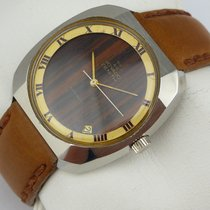 Zenith Movado Automatic Vintage - Wood Dial - Cal. 2572 PC