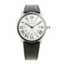 Cartier Ronde Solo De Cartier Stainless Steel Silver Automatic...
