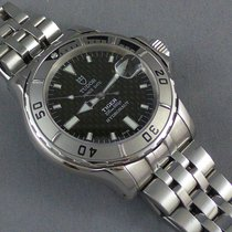 Tudor Prince Date HYDRONAUT sapphire crystal COCA COLA dial