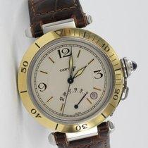 Cartier Pasha Stahl Gelbgold Lünette 1033