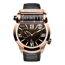 Jacob & Co. Epic SF 24 Rose Gold Brown Dial
