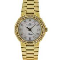 Baume & Mercier Riviera 18k Yellow Gold MOP Diamond Ladies...