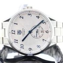 TAG Heuer Carrera Heritage Silver Dial Blued Hands Automatic...