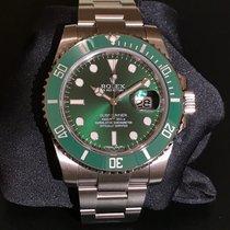 Rolex Submariner Green Bezel, Green Dial, Anniversary 116610LV...