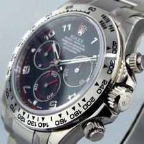 Rolex Daytona 116509 White Gold Bracelet Black Dial