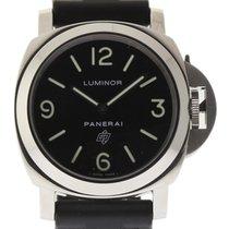 Panerai Luminor Base Logo PAM00000 44mm Steel Black Rubber  #1507
