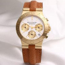 Bulgari Diagono Chronograph CH35G 18K Yellow Gold