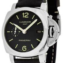 Panerai PAM00535 Luminor 1950 3 Days GMT Acciaio Men's...