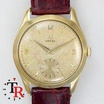 Omega Vintage Rose 18k gold 36MM lunar dial