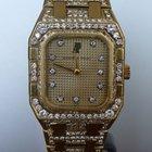 Audemars Piguet Royal Oak gold and factory diamonds
