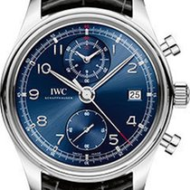 IWC Portuguese Chronograph Classic - Stainless Steel IW390406
