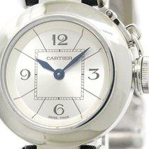 Cartier Miss Pasha Steel Quartz Ladies Watch W3140025 (bf105133)