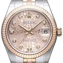 Rolex Datejust 31 Edelstahl Roségold Everose Jubilé Pink J DIA