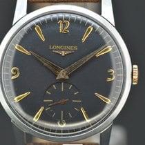 Longines Black dial Handaufzug Caliber 370 aus 1962