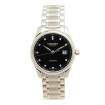 Longines Master Stainless Steel Black Automatic L2.257.4.57.6