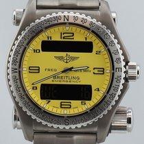 Breitling Emergency Titanium Yellow 43mm Men's Watch...