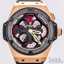 Hublot King Power Unico GMT, Automatic, 18K Rose Gold 48mm...