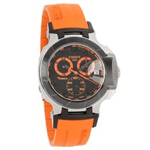 Tissot T-Race Series Mens Orange/Blk Watch T048.417.27.057.04