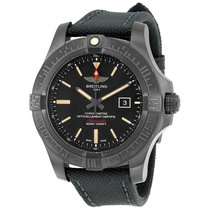 Breitling Avenger Blackbird Canvas Military Strap Automatic...