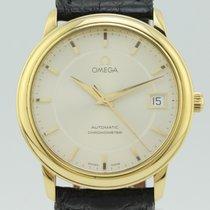 Omega De Ville Prestige Automatic  Chronometer  Gold Caliber