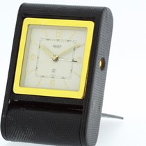 JAEGER Vintage Reveil Table Alarm Clock 8 Days Movement...