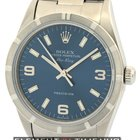 Rolex Air-King Stainless Steel 34mm Blue Dial Circa 2003 Ref....
