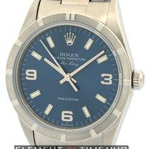 Rolex Air-King Stainless Steel 34mm Blue Dial Circa 2003