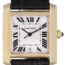 Cartier Tank Francaise 18k Yellow Gold Men's Used Watch...