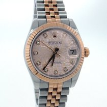 Rolex Datejust Lady 31mm 18K Rose Gold Diamonds