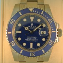 Rolex Submariner WHITE GOLD
