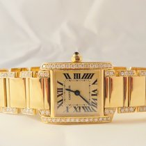 Cartier Tank Francaise Small Size Aftermarket Setting