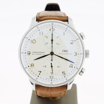 IWC Portuguese Chronograph Gold Hands (B&P2011) 41MM MINT