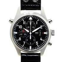 IWC Pilots Stainless Steel Black Automatic Iw377801