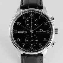 "IWC Portuguese ""Chronograph - Box & Papers"""