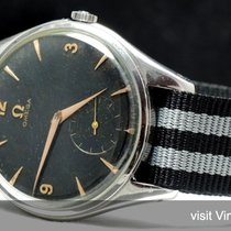 Omega Perfect 38mm Omega Oversize Jumbo Vintage black chocolat...