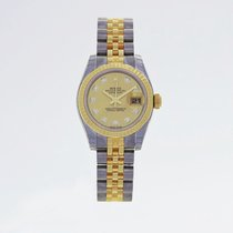 Rolex 179173-63133 G CHAMPAGNE Oyster Perpetual Lady Datejust...