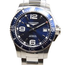 Longines Conquest Stainless Steel Blue Automatic L3.641.4.96.6