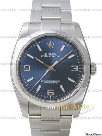 Rolex Oyster Perpetual 116000 blue
