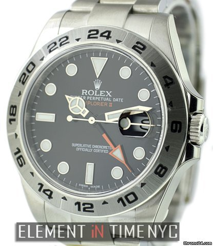 Rolex Explorer II Black Dial 42mm 216570 NIB