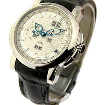 Ulysse Nardin 329-60  GMT Perpetual 42mm in Platinum -...