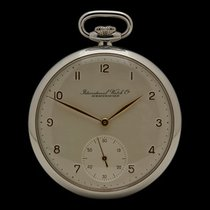 IWC Vintage Cal.67 Pocket Watch Stainless Steel Gents 67
